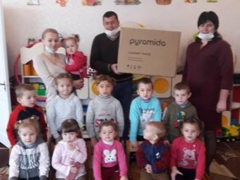 Для дитсадка в Кисилині подарували кухонну витяжку