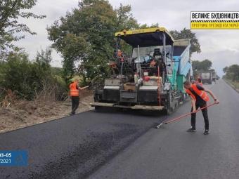 Завершується «Велике будівництво» шляху у Володимир-Волинському районі